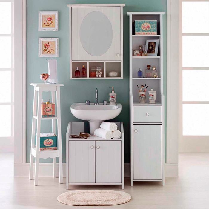 Cômodos pequenos modulado banheiro