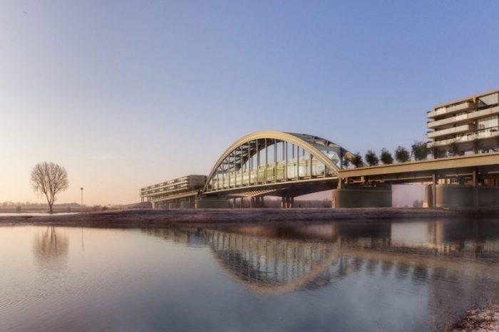 Ponte abandonada é transformada em condomínio ecológico